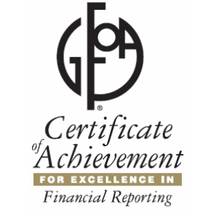 Algonquin Receives Award for Comprehensive Annual Financial Report