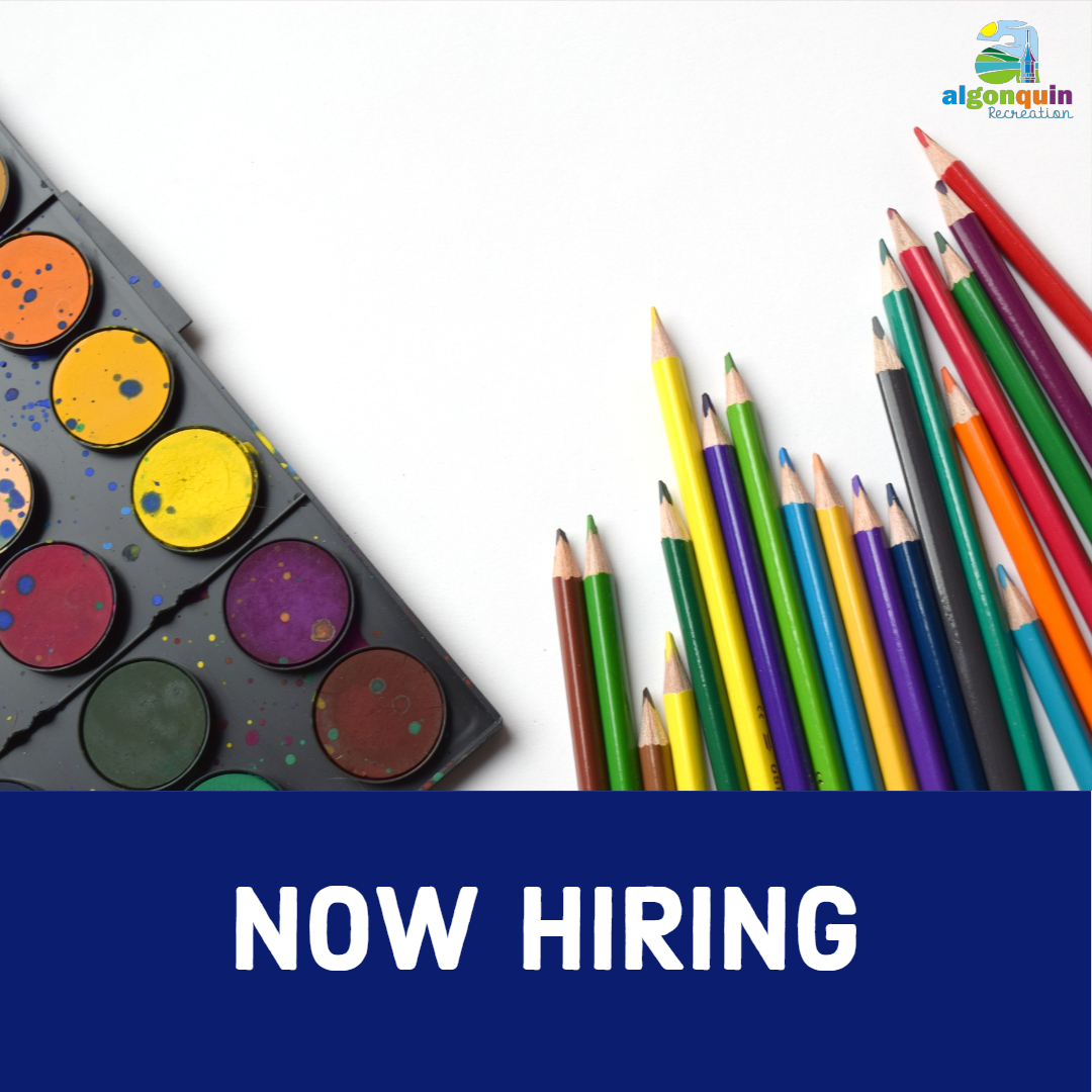 Now Hiring:  Early Childhood/Youth Program Instructor