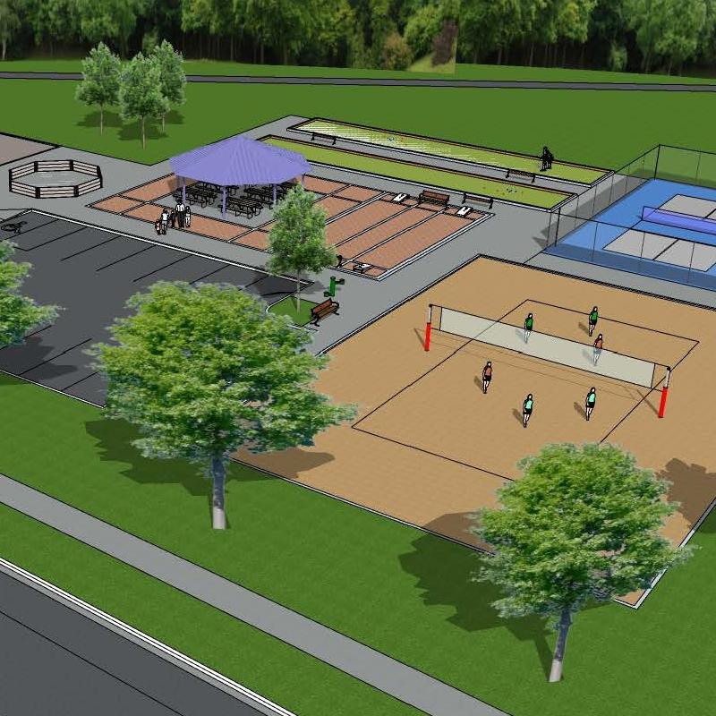 Stoneybrook Park Conceptual Drawings
