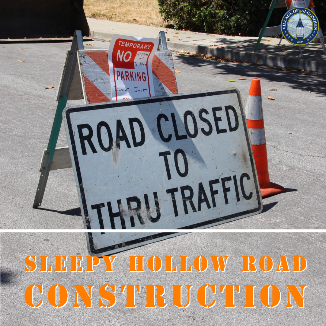 Sleepy Hollow Road Construction