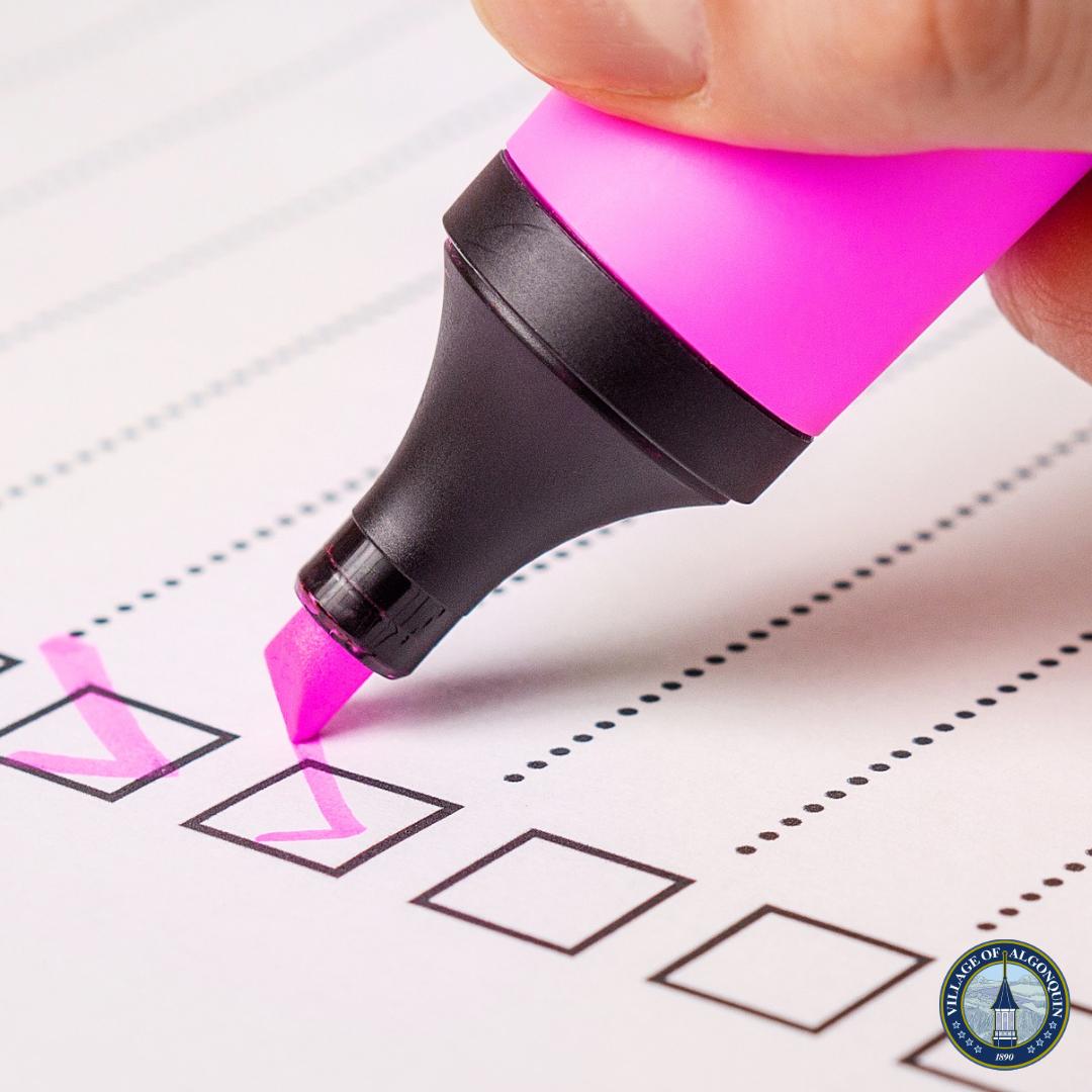 Algonquin Village Board Reviews Community Survey Results