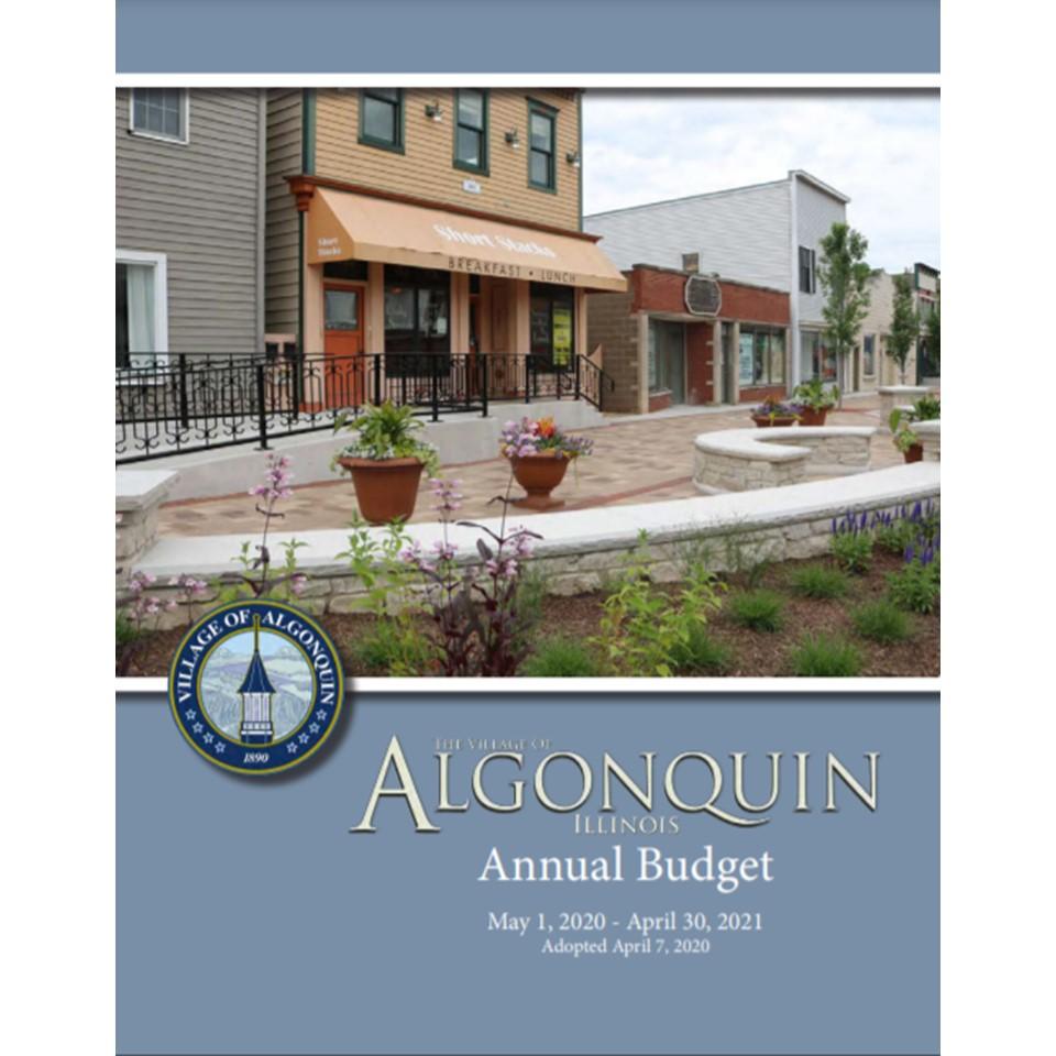 Algonquin Earns Budget Award